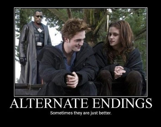 Twilight Alternate Endings - Sometimes They Are Just Better