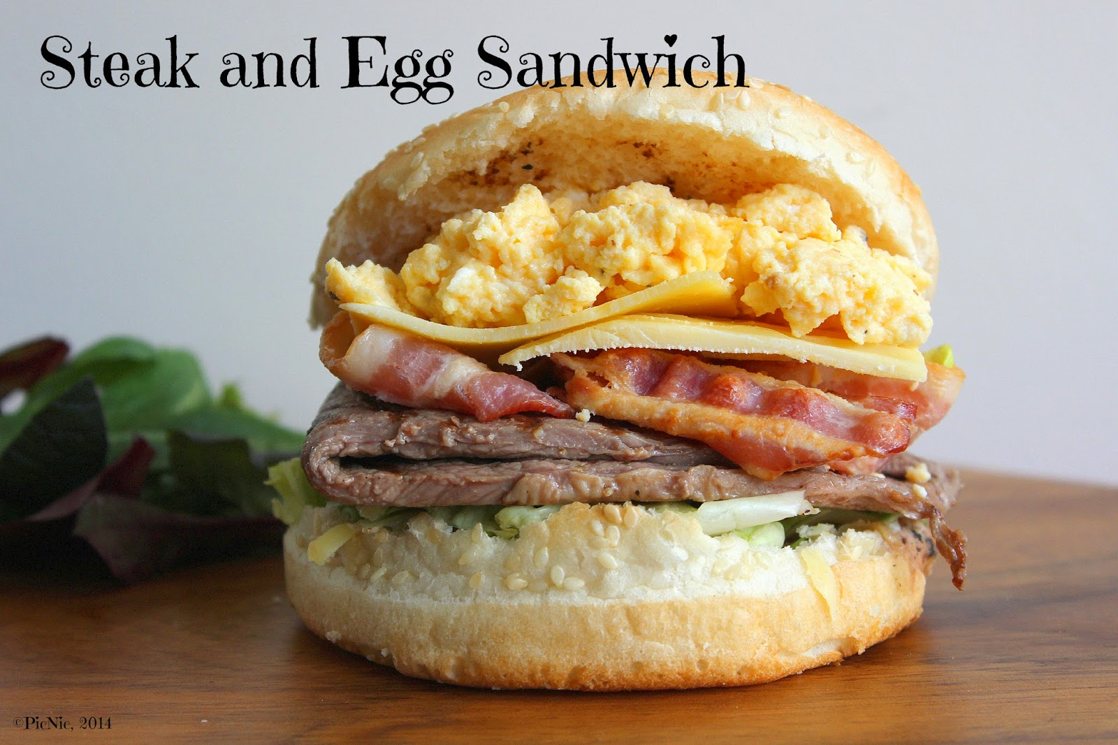 PicNic: Steak and Egg Sandwich