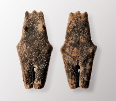 Neolithic female figurine found in Poland