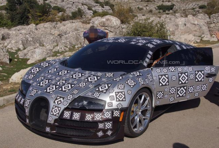 2016 Bugatti Chiron To Have 288 MPH
