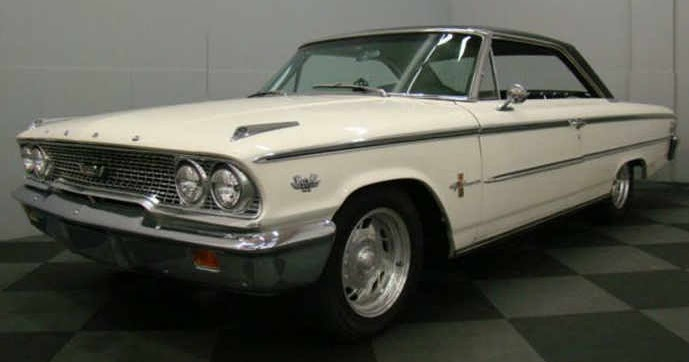 Ford V8 Galaxie 1963 Complete Electrical Wiring Diagram ...