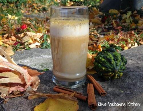 Vegan Pumpkin Spice Latte Smoothie (Gluten-free, Sugar-free)