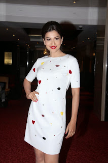 Gauhar Khan Pictures in Short Dress at India SAARC Operations Inauguration