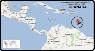 Mapa de GRANADA en Centroamérica, Google Maps