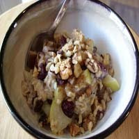 Weight Loss Recipes : Fruity-Nutty Oatmeal