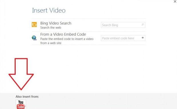 Cách chèn video online vào Word 2013 3