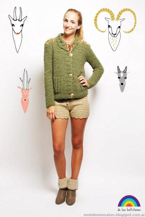 Blog de moda Argentina De las Bolivianas tejidos 2013