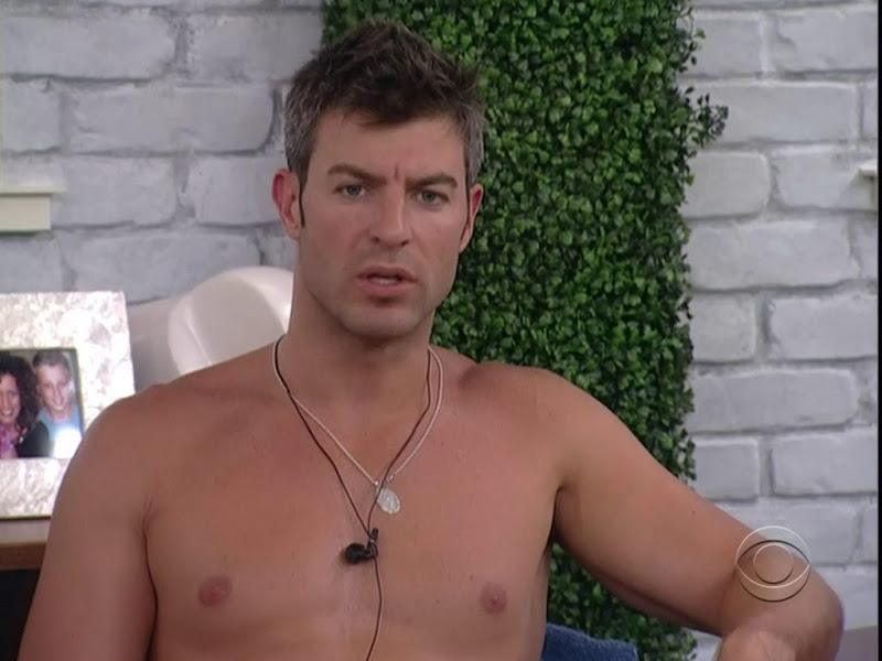 Jeff Schroeder Shirtless in Big Brother 13 week 2