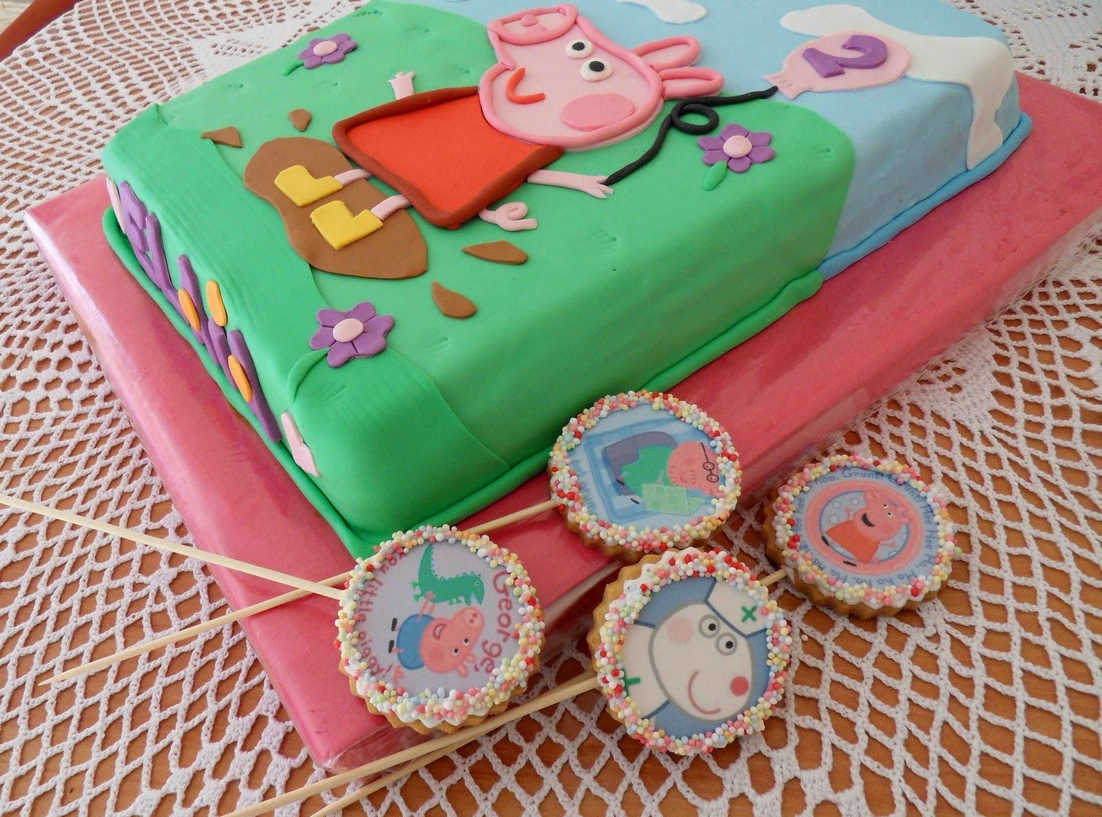 Dulces Placeres tartas: chiqui-cumpleaños