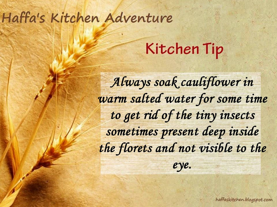 Kitchen tips| Haffas kitchen tips| Oil tips| Diet tips