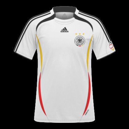 GT Camisas  Camisas Alemanha 2006   2007 - Home e Away 8a4ed0daf1e96