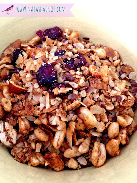 Homemade Granola, Natasha in Oz