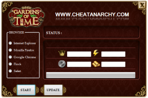 Gardens of Time Cheat Engine
