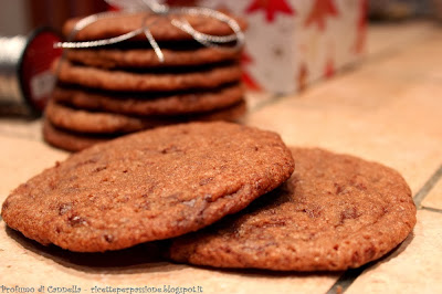 cookies al cioccolato all'aroma di arancia - profumo di biscotti odore di felicità