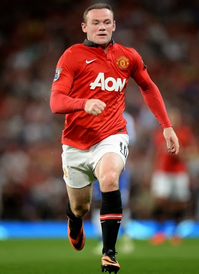 Wayne Rooney Man Utd Striker profile 20132014