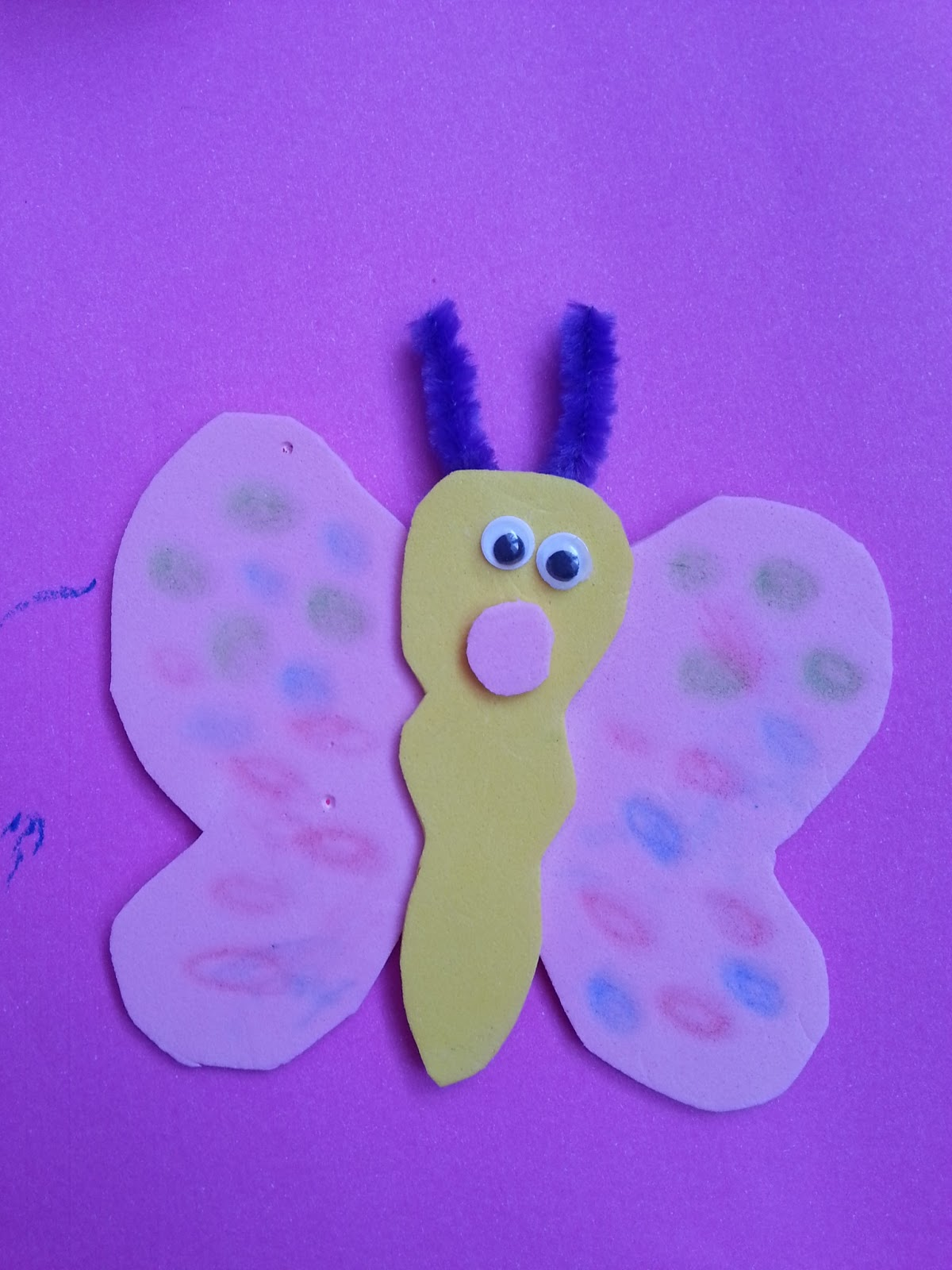 Eva ile Kolay Kelebek Yapımı