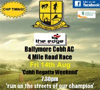 Cobh 4 mile road race...Fri 14th Aug 2015