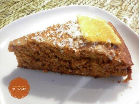 Cocina macrobi tica bizcocho de zanahoria naranja for Cocina macrobiotica