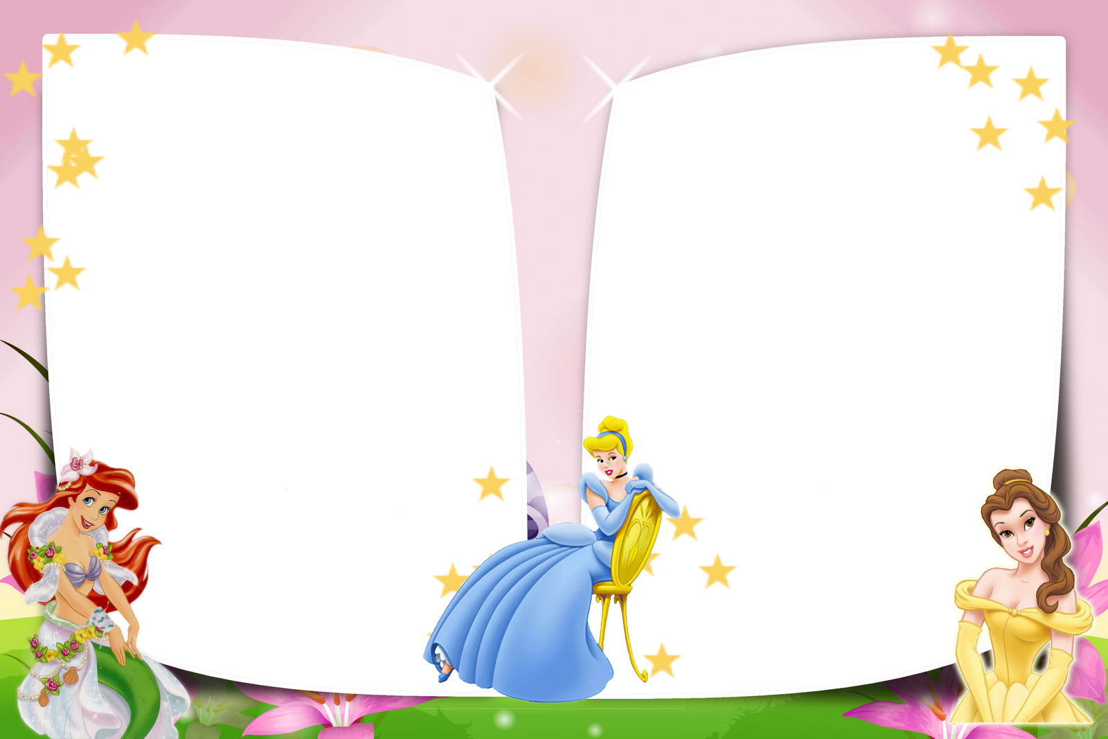 Monte Seu Album De Foto   As Princesas Da Disney Cada Frame Contem