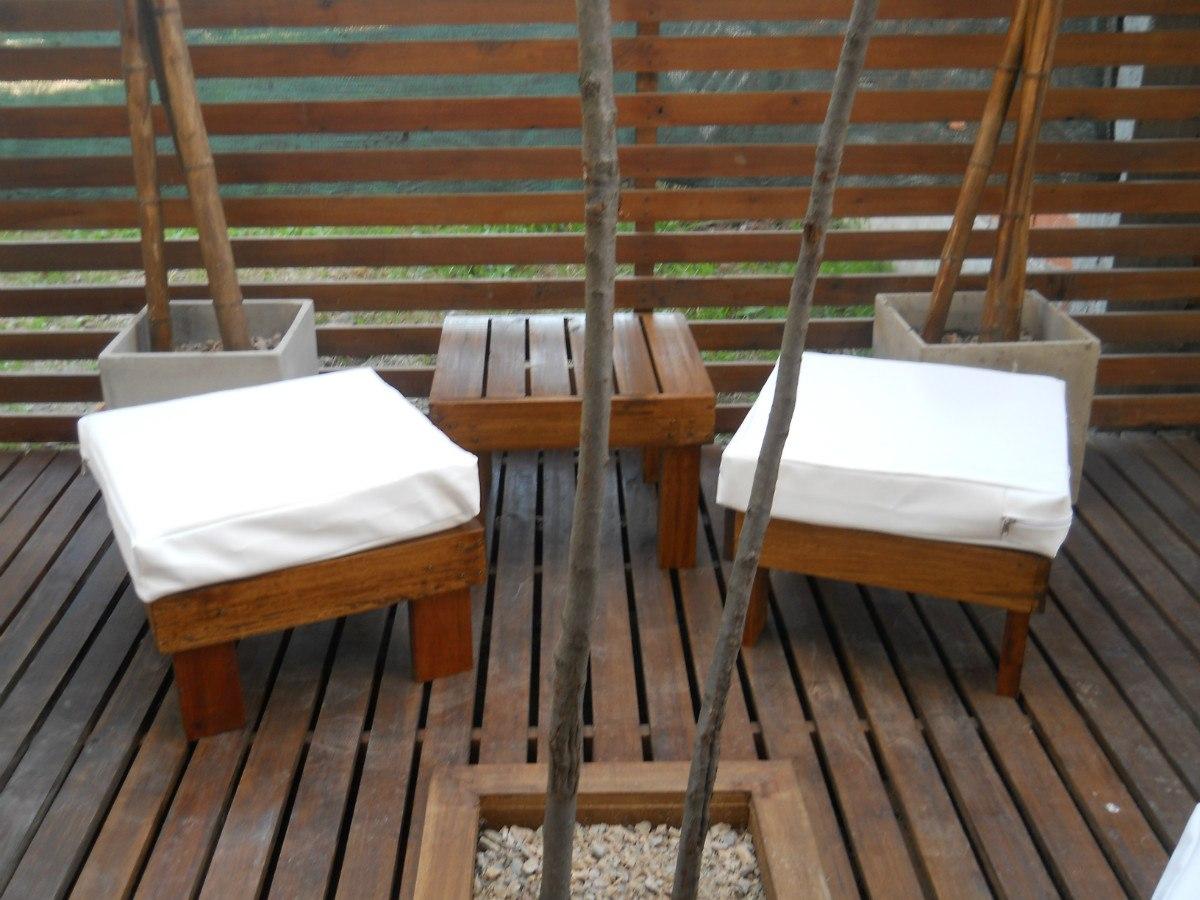 Creaciones exteriores - Muebles exterior madera ...