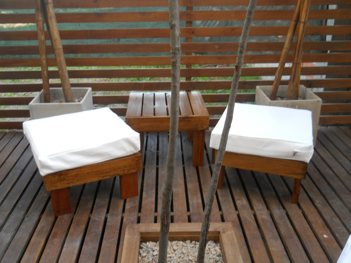Muebles madera jardin exterior 20170730152159 for Muebles de exterior madera