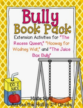 http://www.teacherspayteachers.com/Product/Back-to-School-Bully-Book-Pack-271373