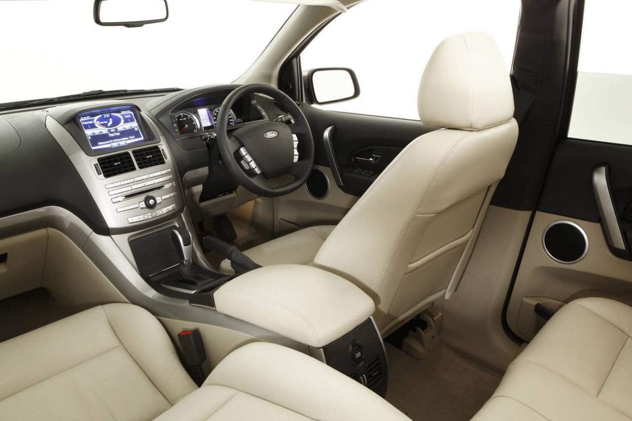 2011 FORD TERRITORY INTERIOR DESIGN