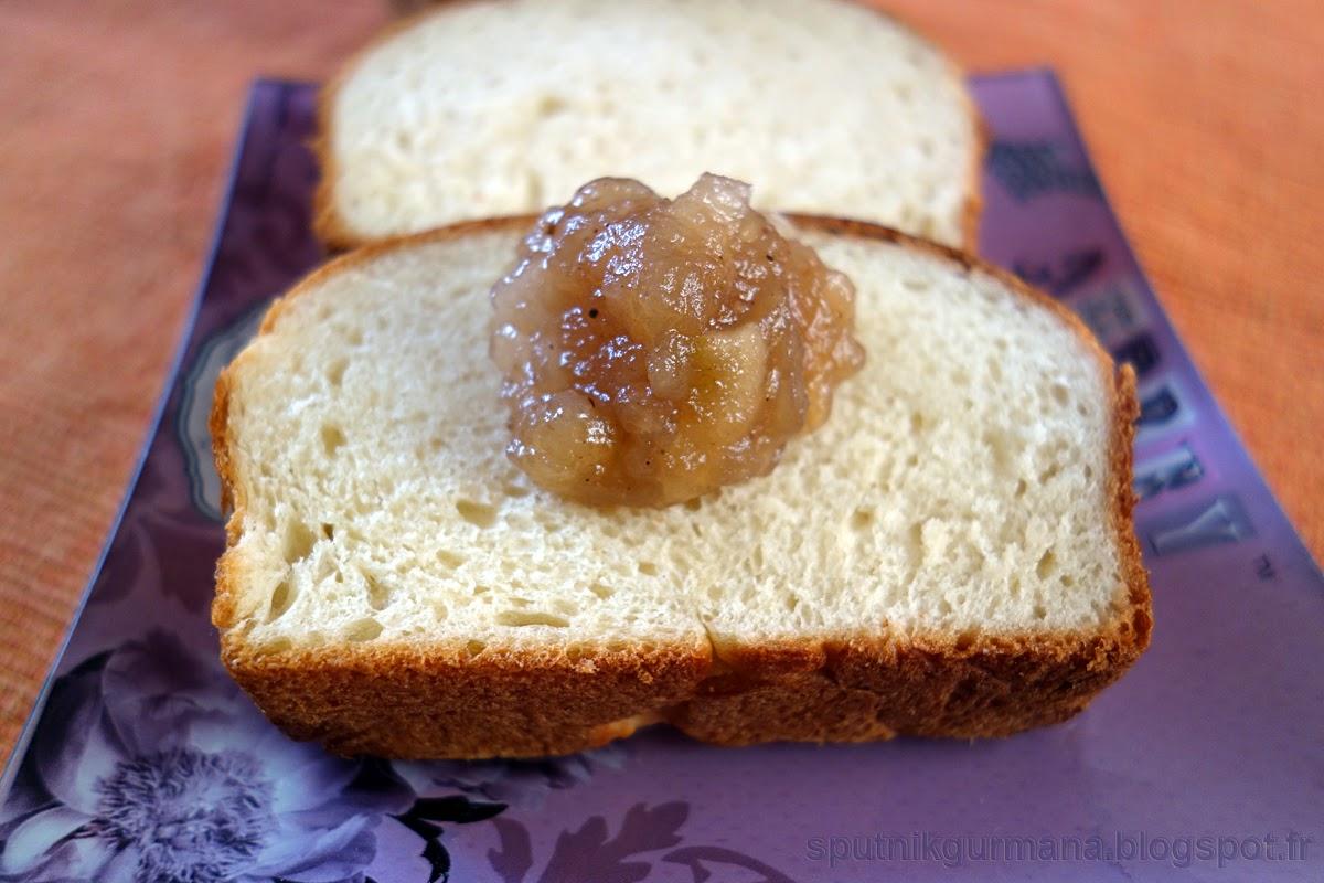 Яблочное варенье в хлебопечке