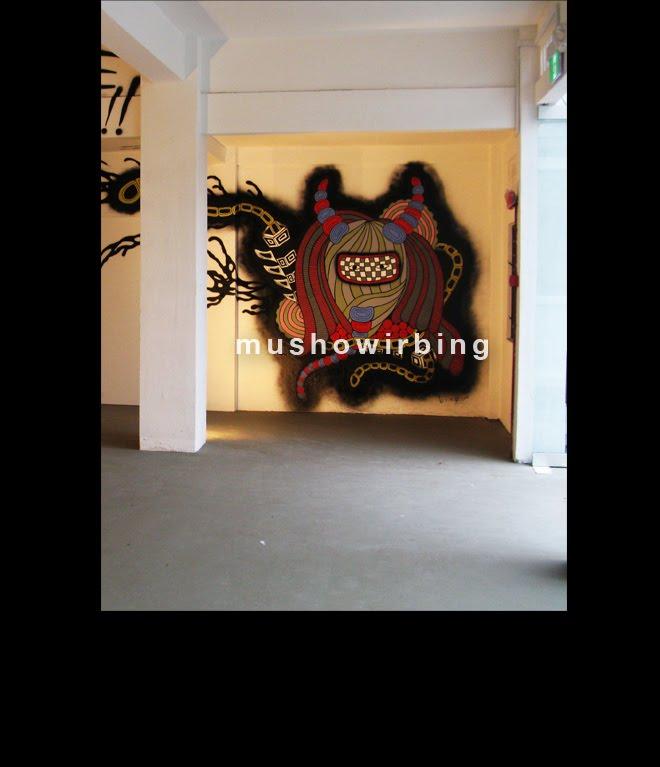 site specific project 2012,galerie michael janssen,gillman barracks,singapore
