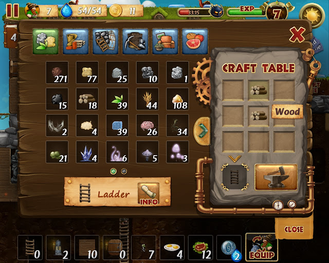 Craft the World - Craft Ladder Description