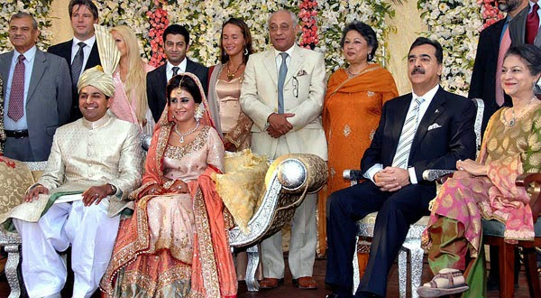 yousuf raza gillanis daughter wedding pictures b amp g