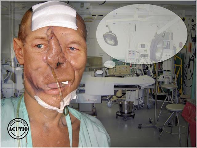 Funny image Traian Basescu Baie de multime