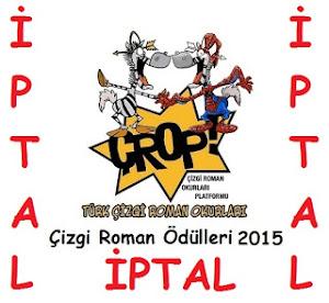 """""""Çizgi Roman Ödülleri 2015"""" Oylaması İPTAL oldu"""