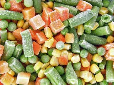 Verduras congeladas la huerta son buenas