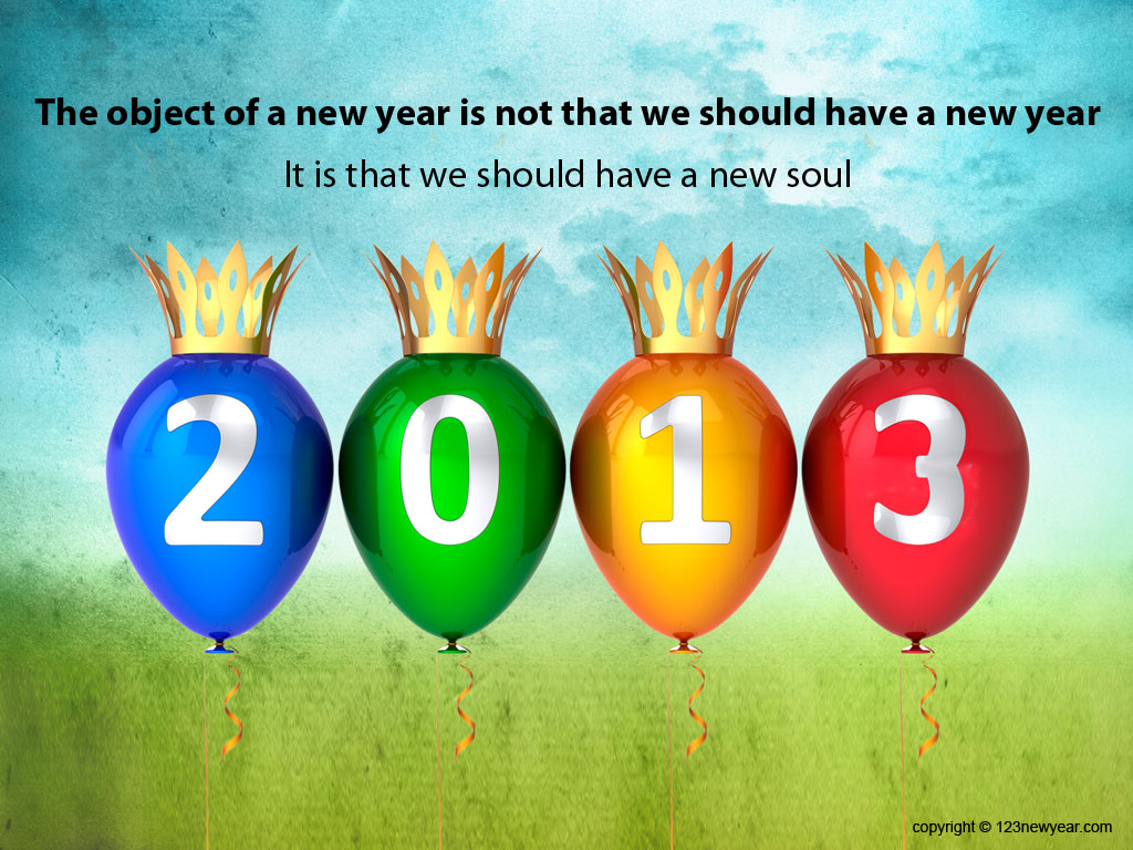 Kumpulan Wallpapers : Happy New Year 2013