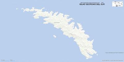 ISLAS GEORGIAS DEL SUR , Antartida, BING