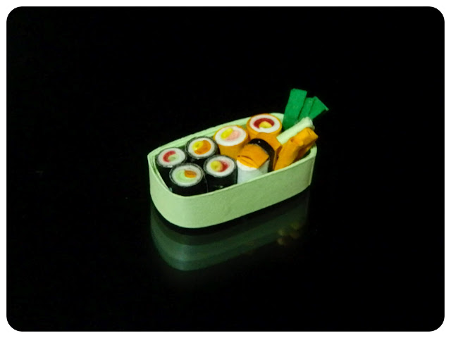 Miniature Sushi Box
