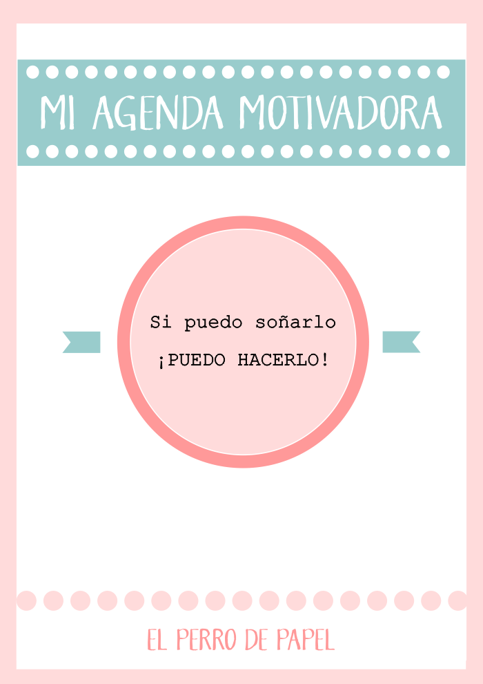 Agenda Motivadora Imprimible 2015