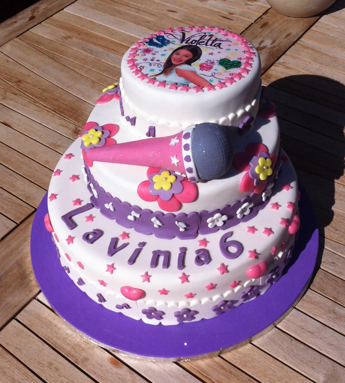 Cake Design Di Violetta : Le torte di Stefilla: Violetta Cake per la piccola ...