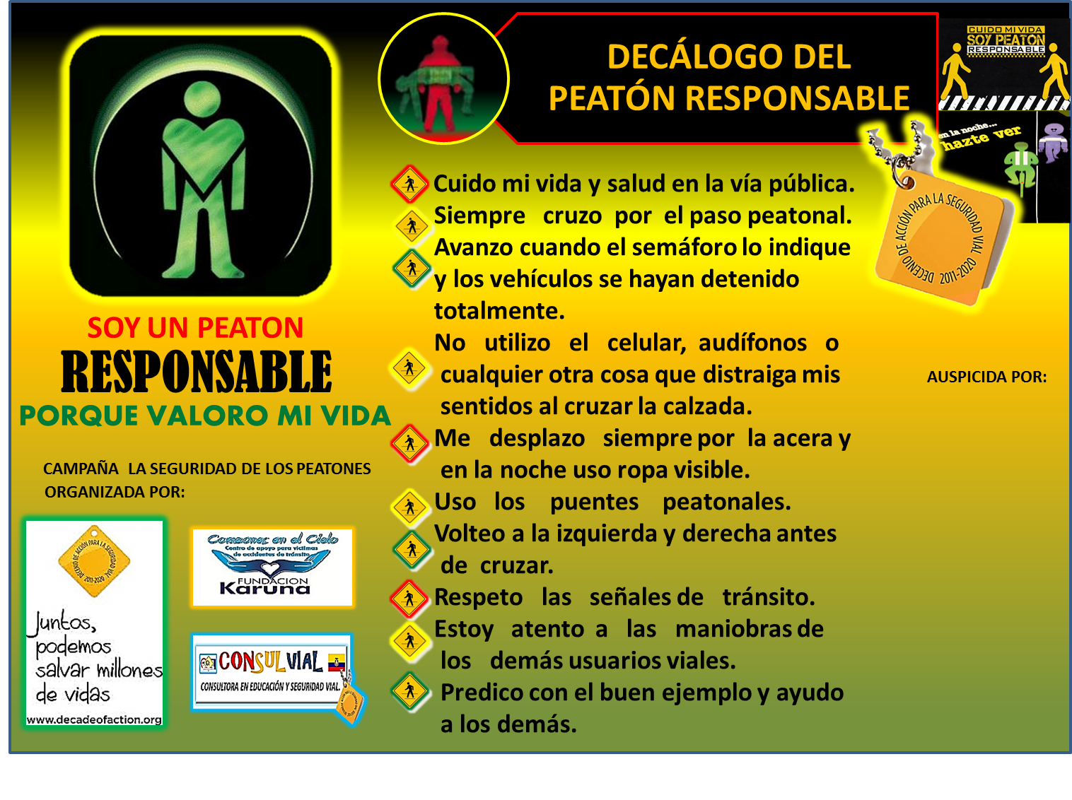 Tips Seguridad Vial de la Seguridad Vial