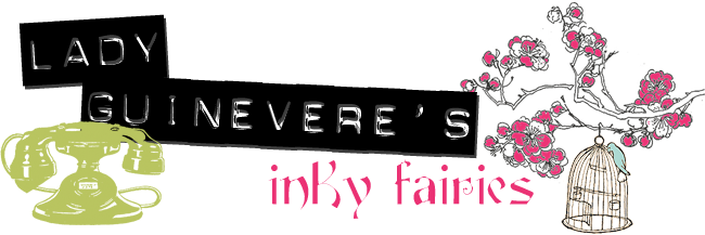 Lady Guinevere&#39;s Inky Faeries