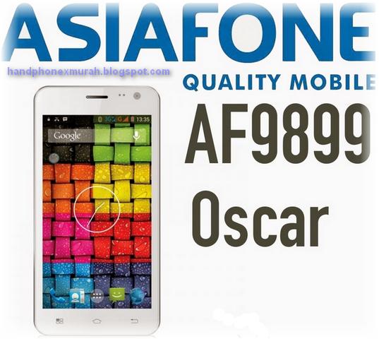 Spek Asiafone Oscar 9989 - Quadcore Layar 5 Inch IPS 600 ribuan