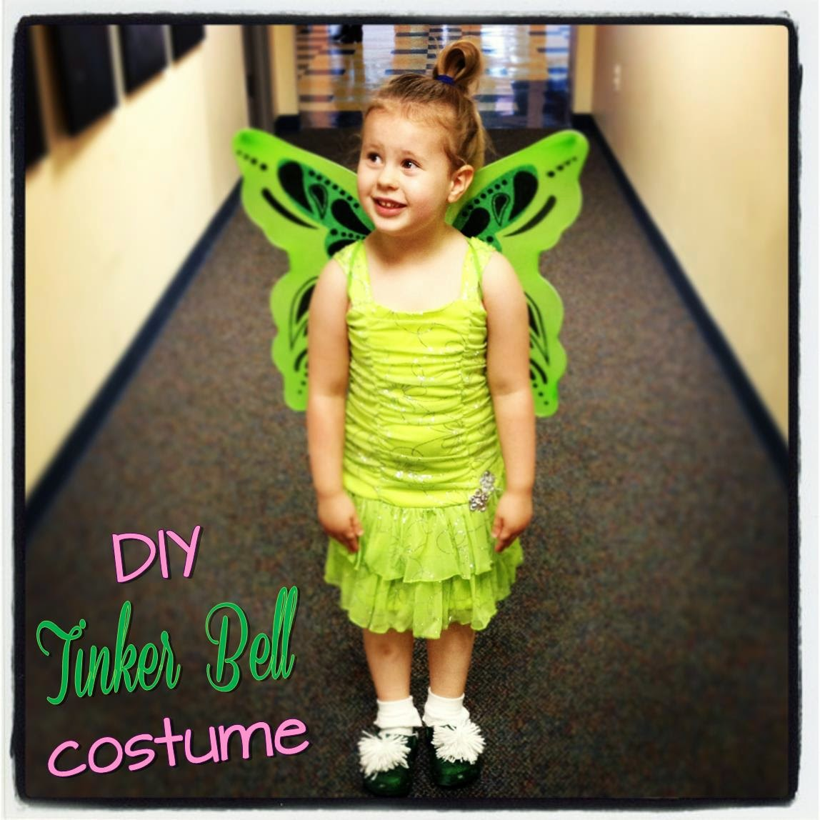 DIY Tinker Bell costume ~ Life in Random Bits #halloween #costume #diy