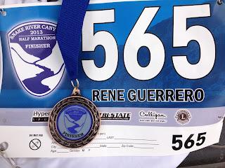 Snake River Half Marathon Bib