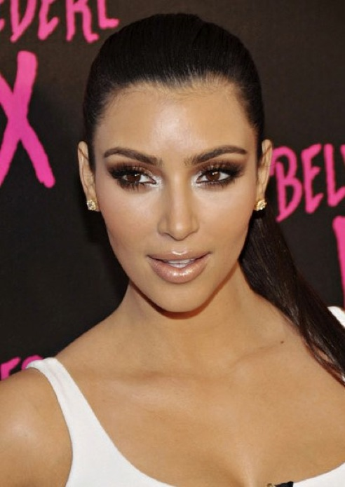 what is kim kardashian hair color. kim kardashian hair color
