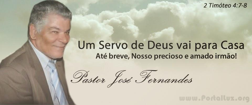 Um servo de Deus vai para casa ! Até breve nosso precioso irmão !