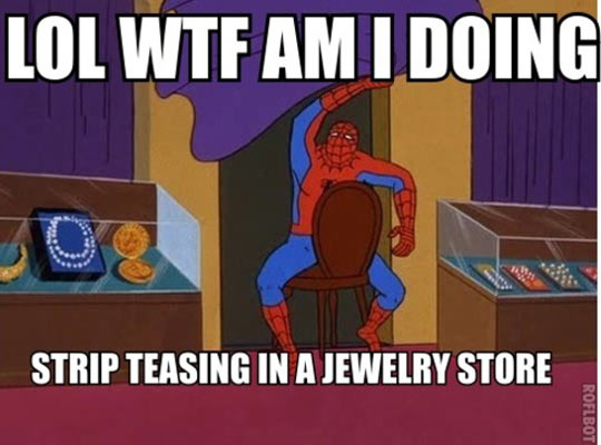 Why yes i did say spiderman thread