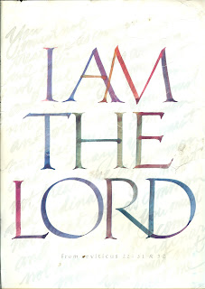 I AM THE LORD