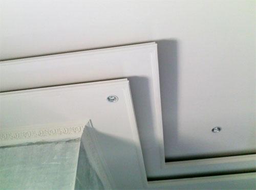 Plafon Gypsum Kombinasi Triplek