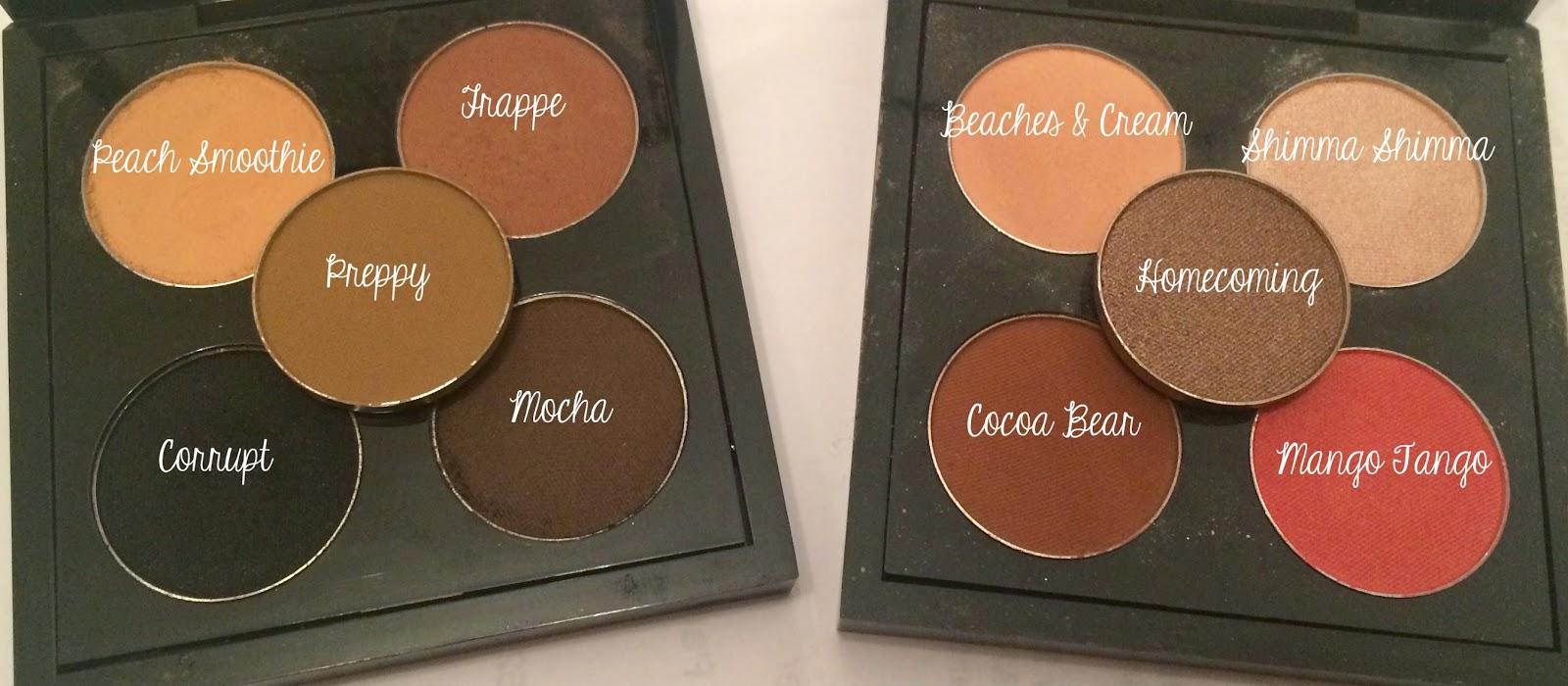 Maquillaje Geek Sombra de Ojos Pan - Playas y crema - Geek maquillaje sombra de ojos Pans - Sombras de Ojos